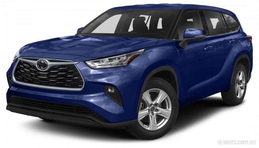 Toyota Highlander 2020 Màu Blueprint
