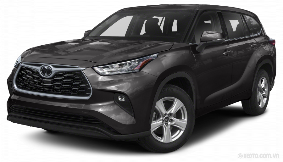 Toyota Highlander 2020 Màu Magnetic Gray Metallic