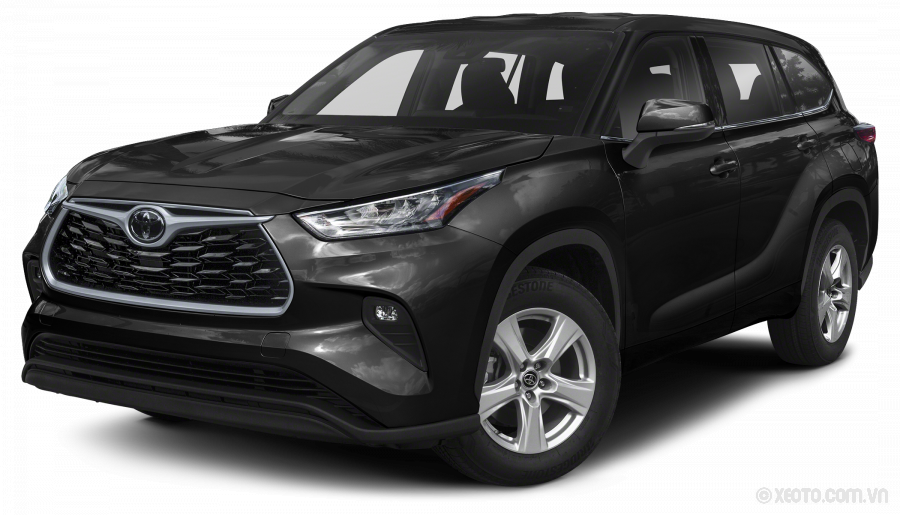 Toyota Highlander 2020 Màu Midnight Black Metallic