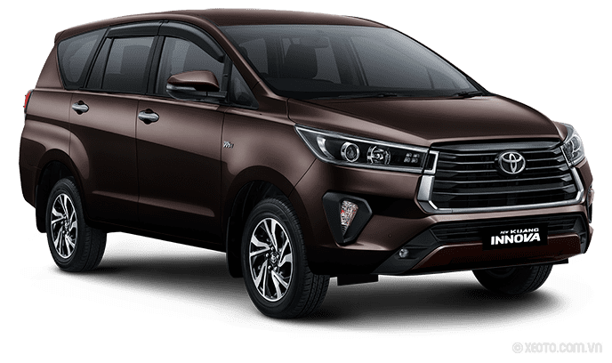 Toyota Innova 2021 Màu Phantom Brown