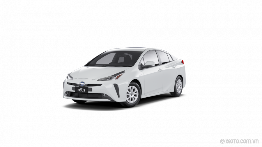 Toyota Prius 2021 Màu Frosted White
