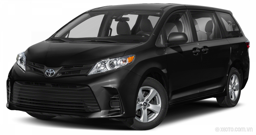 Toyota Sienna 2020 Màu Midnight Black Metallic