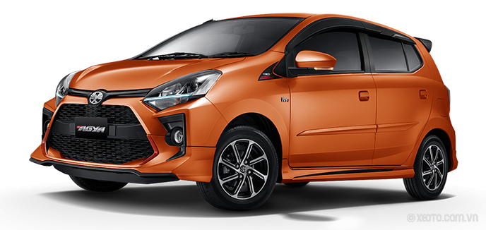 Toyota Wigo 2020 Màu Orange Metallic