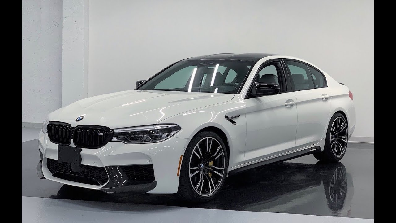 Chi tiết mẫu xe BMW M5 Competition M Performance