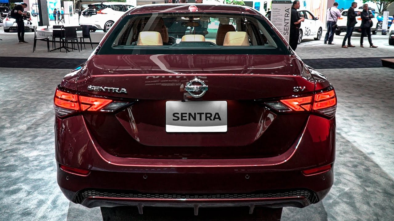 Chi tiết chiếc xe Nissan Sentra 2020